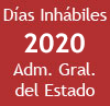 D�as inh�biles 2020